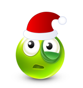 Christmas Smiley Icon 27