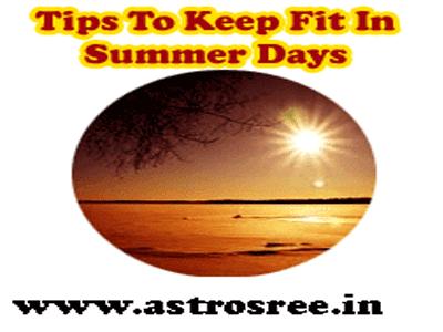 tips for summer days