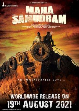 Sharwanand, Siddharth, Aditi Rao Hydari, and Anu Emmanuel Next upcoming 2021 Telugu film Maha Samudram Wiki, Poster, Release date, Songs list wikipedia