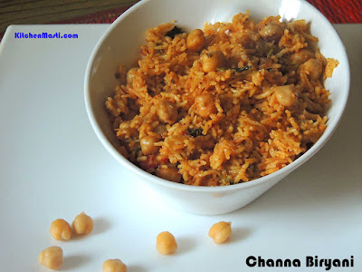 Channa+Biryani
