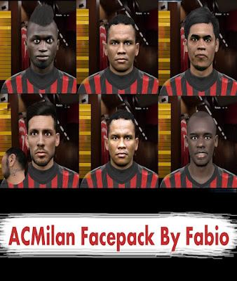 A.C.Milan Facepack Pes 2016 By Fabio