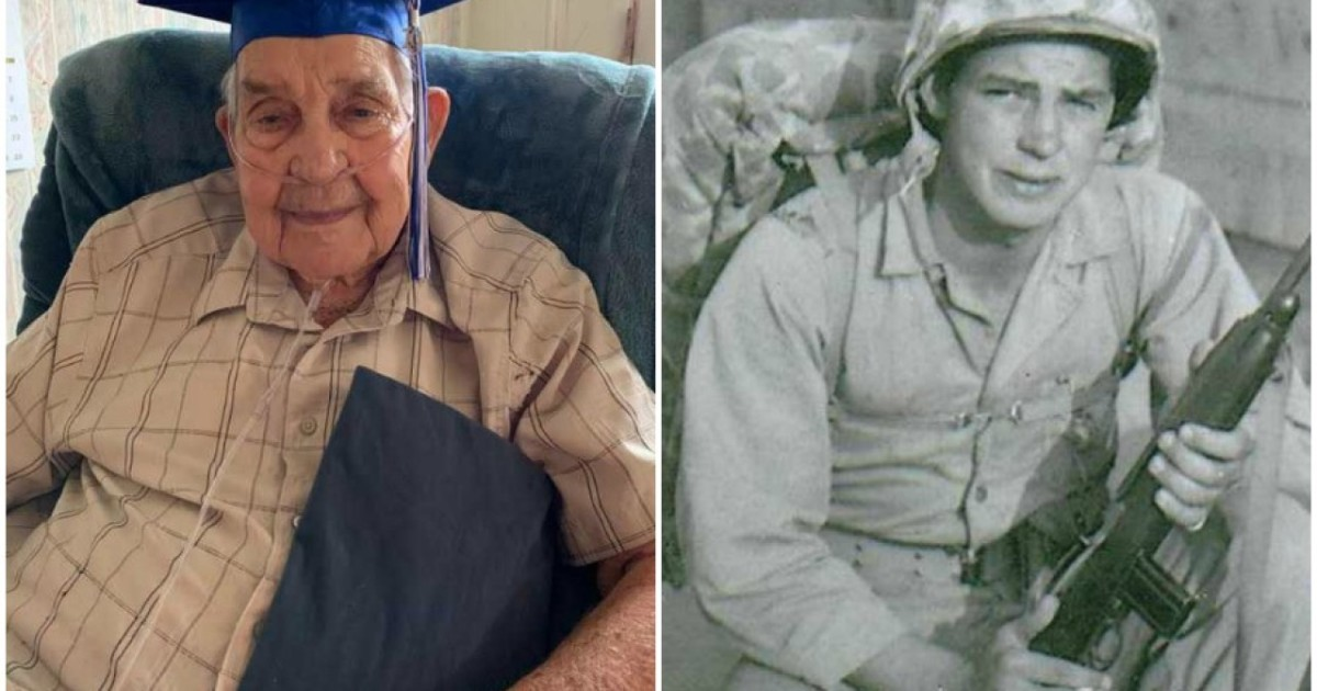 95-year-old WWII veteran will finally graduate from high school after waiting almost 80 years