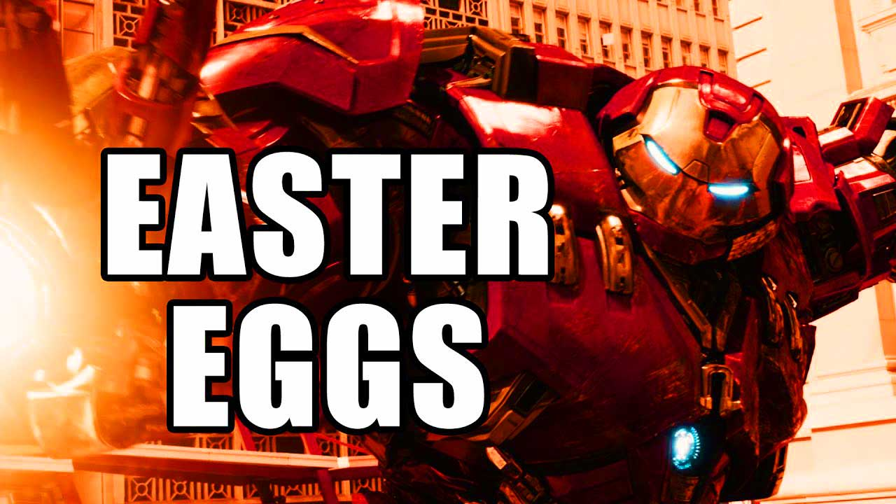 AVENGERS AGE OF ULTRON Easter Eggs & References