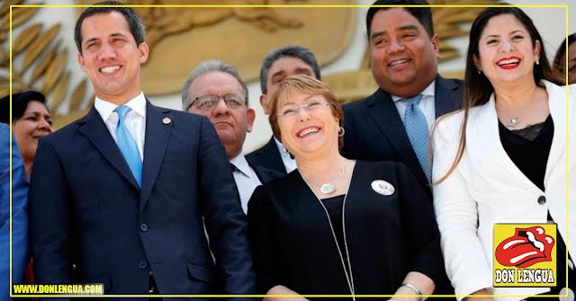 El chiste que hizo reír a la izquierdos Michele Bachelet