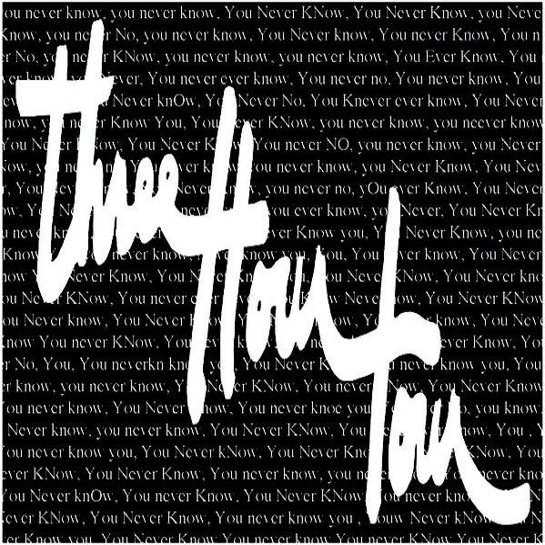 THREE HOUR TOUR -  You never know 1