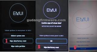 Cara Bypass FRP Huawei Mate 10  Melalui Metode Mode Aman