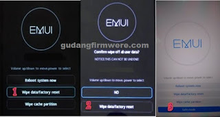 Cara Bypass FRP Huawei P20 Pro Melalui Metode Mode Aman