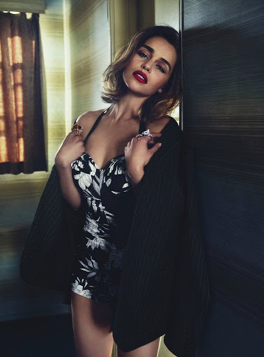 emilia clarke sexy vogue magazine australia models photo shoot