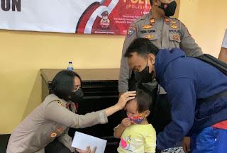 Polsek Tanjung Duren Berbagi Pada Anak Yatim Piatu Sambut  HUT POLWAN Ke-73