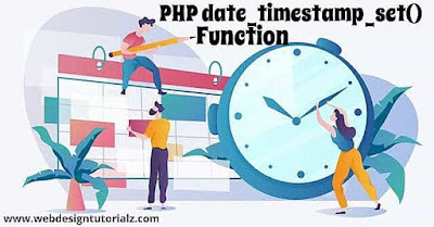 PHP date_timestamp_set() Function