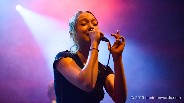 Raffaella at The Danforth Music Hall on September 24, 2019 Photo by John Ordean at One In Ten Words oneintenwords.com toronto indie alternative live music blog concert photography pictures photos nikon d750 camera yyz photographer