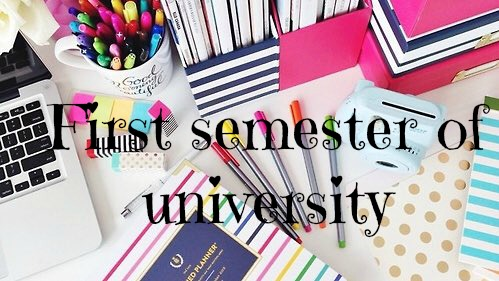 my first semester at university That was the first thought that ran through my mind after completing my first semester at towson university for most freshmen in college, especially first-generation college students, the first.
