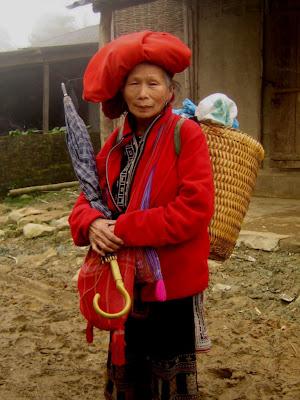 Personnes âgées vietnamien Sapa