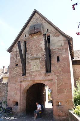 Ingresso della Porta Alta di Riquewihr