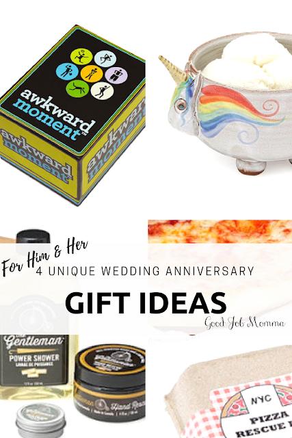 4 Unique Wedding Anniversary Gift Ideas | Good Job Momma