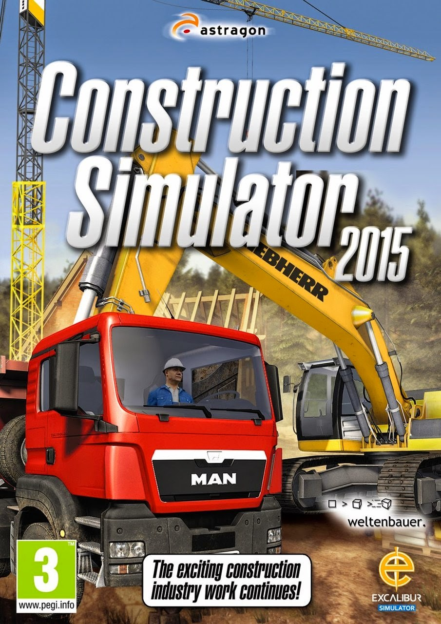 Construction Simulator 2015 PC Cover Caratula