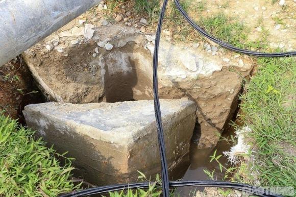 Vụ cột điện đổ đè chết công nhân: Dùng tay bóp, bê tông vỡ vụn