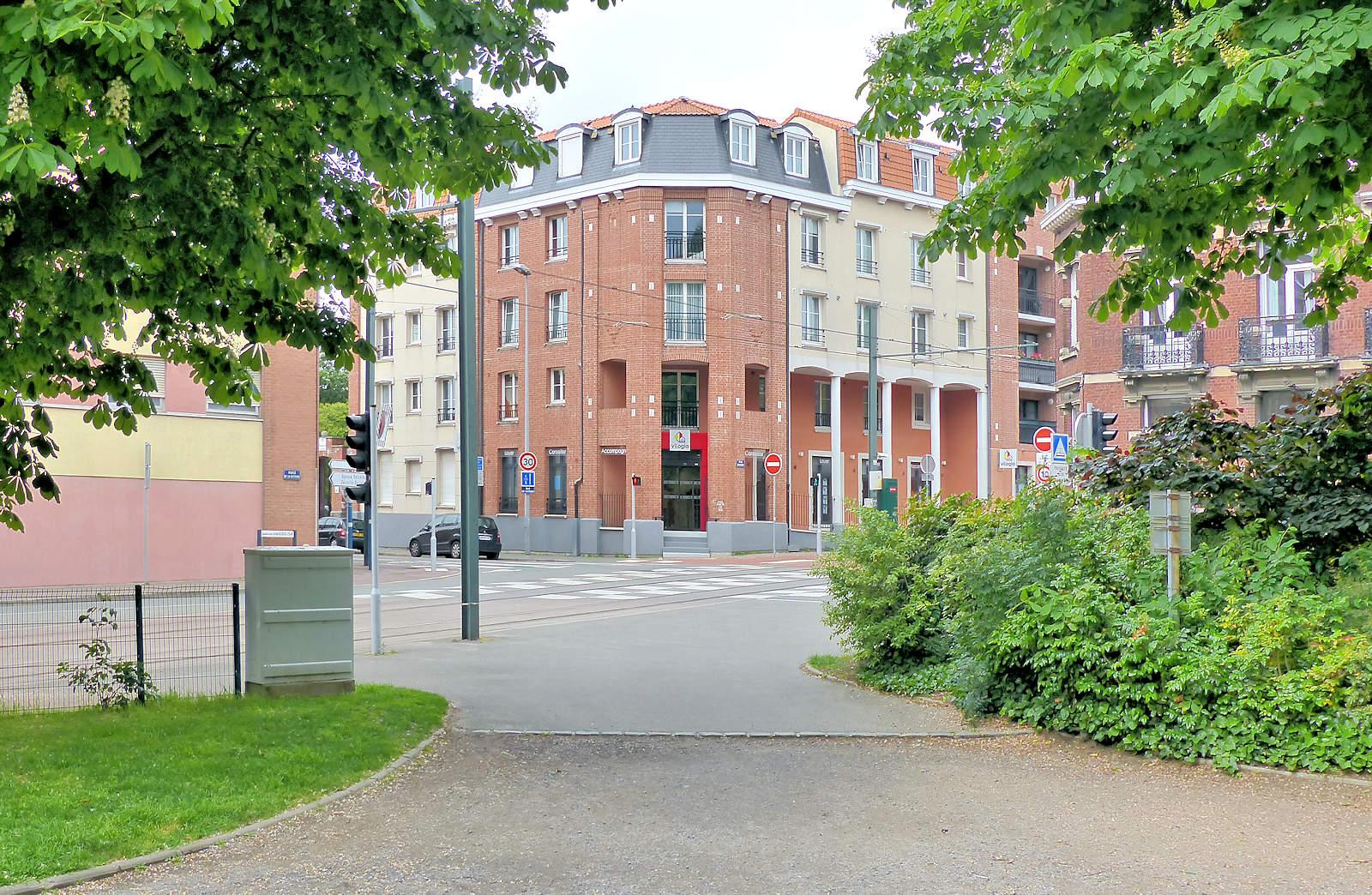 Bailleur Vilogia, rue Chanzy, Tourcoing