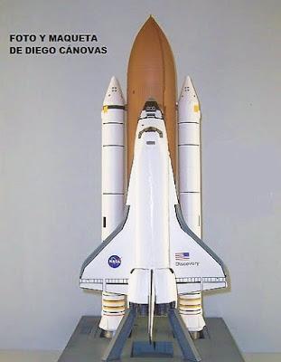 Maquetasdiego: TRANSBORDADOR ESPACIAL DISCOVERY OV-103 (REVELL)