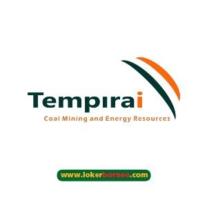 Lowongan Kerja Kalimantan PT. Tempirai Energy Resources tahun 2021
