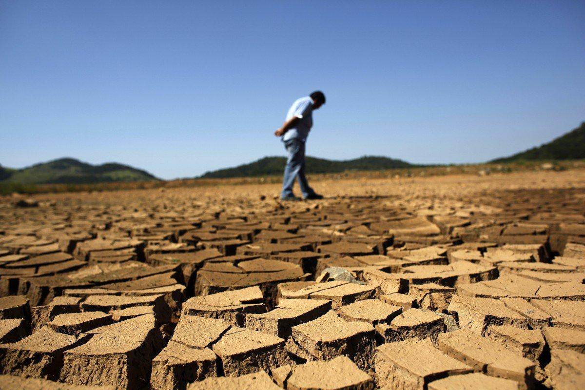 Засуха в Криму. Так виглядають колишні родючі землі.