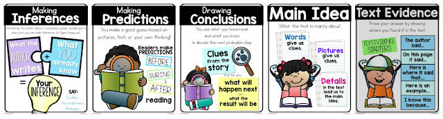 guided reading comprehension skills