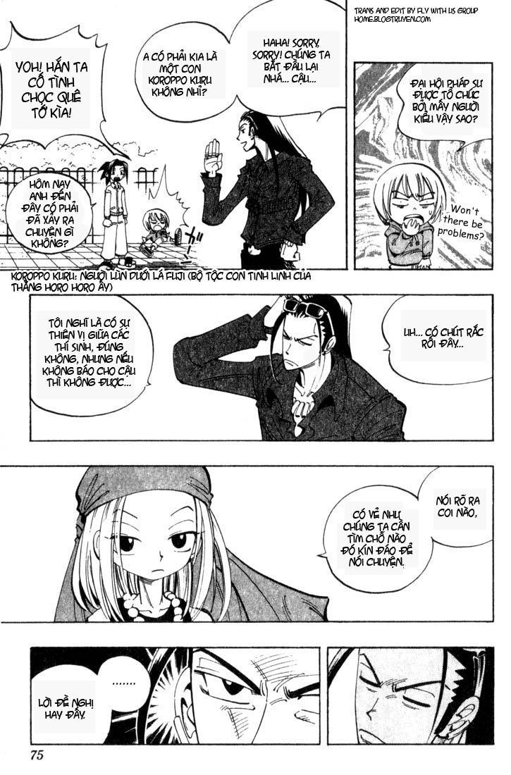 Shaman King [Vua pháp thuật] chap 39 trang 10