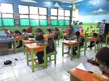 Pembelajaran Tatap Muka Terbatas SDN Gandaria Utara 11   21 April 2021