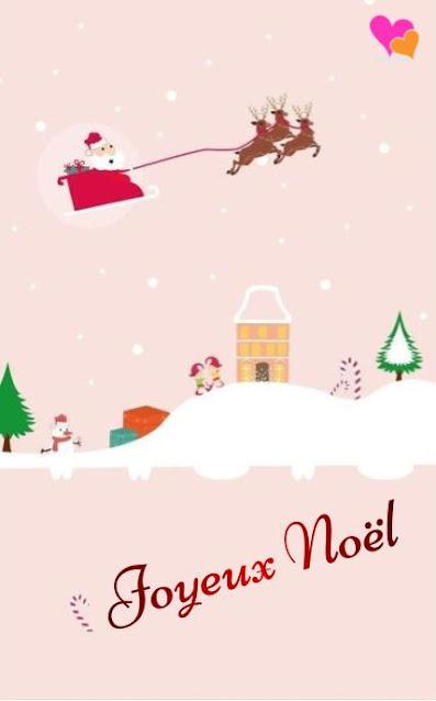 Belle image appropriée pour souhaiter joyeux Noël