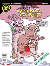 Itty Bitty Bunnies In Rainbow Pixie Candy Land: Bong Genie
