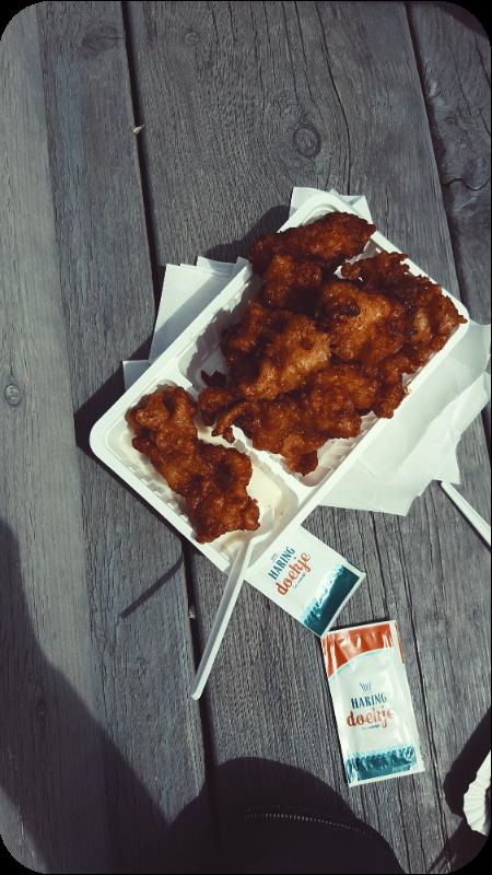 Kibbeling bei Melis Seafood in Westkapelle | Arthurs Tochter Kocht von Astrid Paul