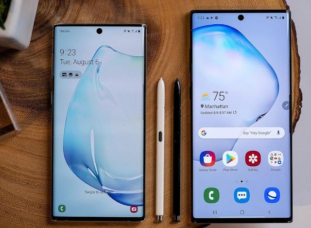مقارنة شاملة بين هاتفي سامسونغ Note 10 وNote 9