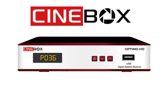 Cinebox Optimo X2 ACM Atualização - 31/05/2021