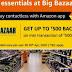 Big Bazaar Rs 500 cashback on Min Transaction worth Rs 500 via Amazon Pay
