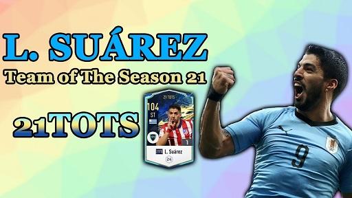 FIFA ONLINE 4 | Review Luis Suárez 21 TOTS