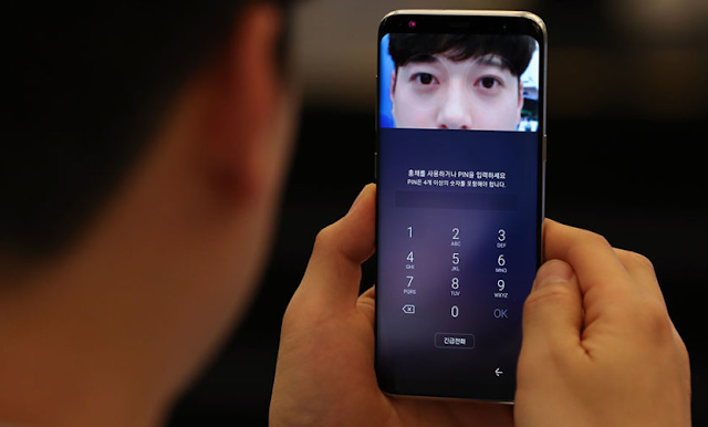 iris scaner pada smartphone