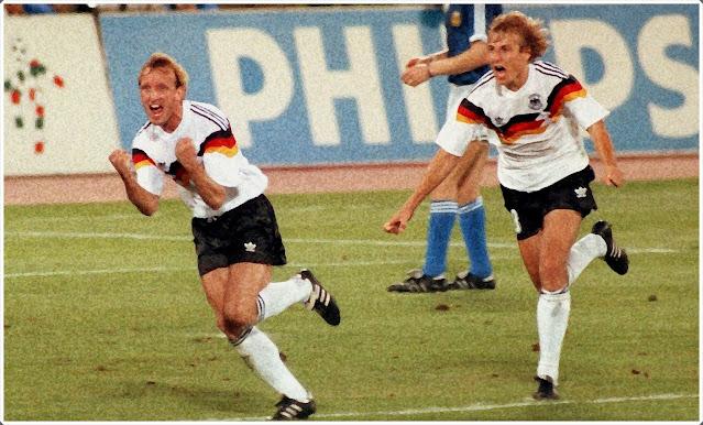 Brehme Klinsmann Germany 1990