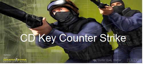 yaitu serangkaian permainan video tembak CD Key Counter Strike 1.6 dan CD Key Counter Strike: Condition Zero 2.0