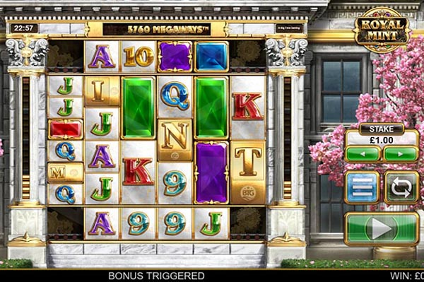 Main Gratis Slot Indonesia - Royal Mint Megaways (Big Time Gaming)