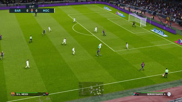 تحميل لعبة كرة القدم  PES 2021 للكمبيوتر