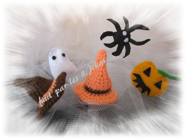 décoration au crochet pour halloween