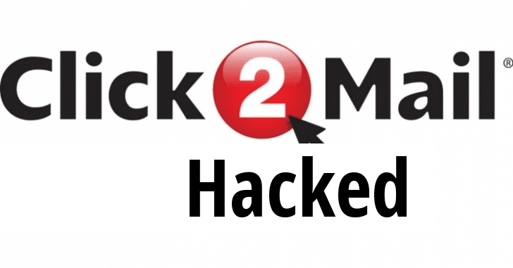 Click2mail Hacked –  Hackers Starts Sending Spam Emails To Stolen Email Address of Users  - Click2mail 2B - Click2mail Hacked – Hackers Stolen Customers Email Address