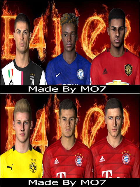 PES 2017 Facepack 2020 by MO7