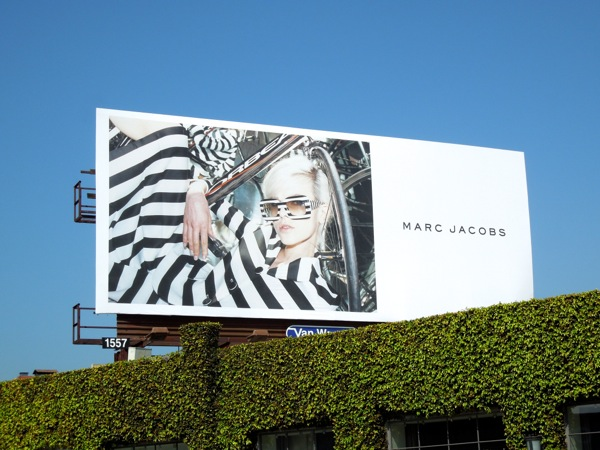 Marc Jacobs June 2013 billboard