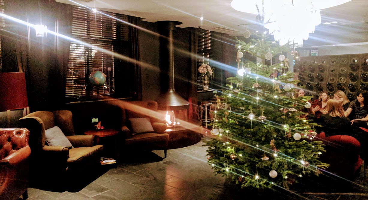 A Grown-Up Festive Weekend in Ouseburn - hotel du vin christmas tree