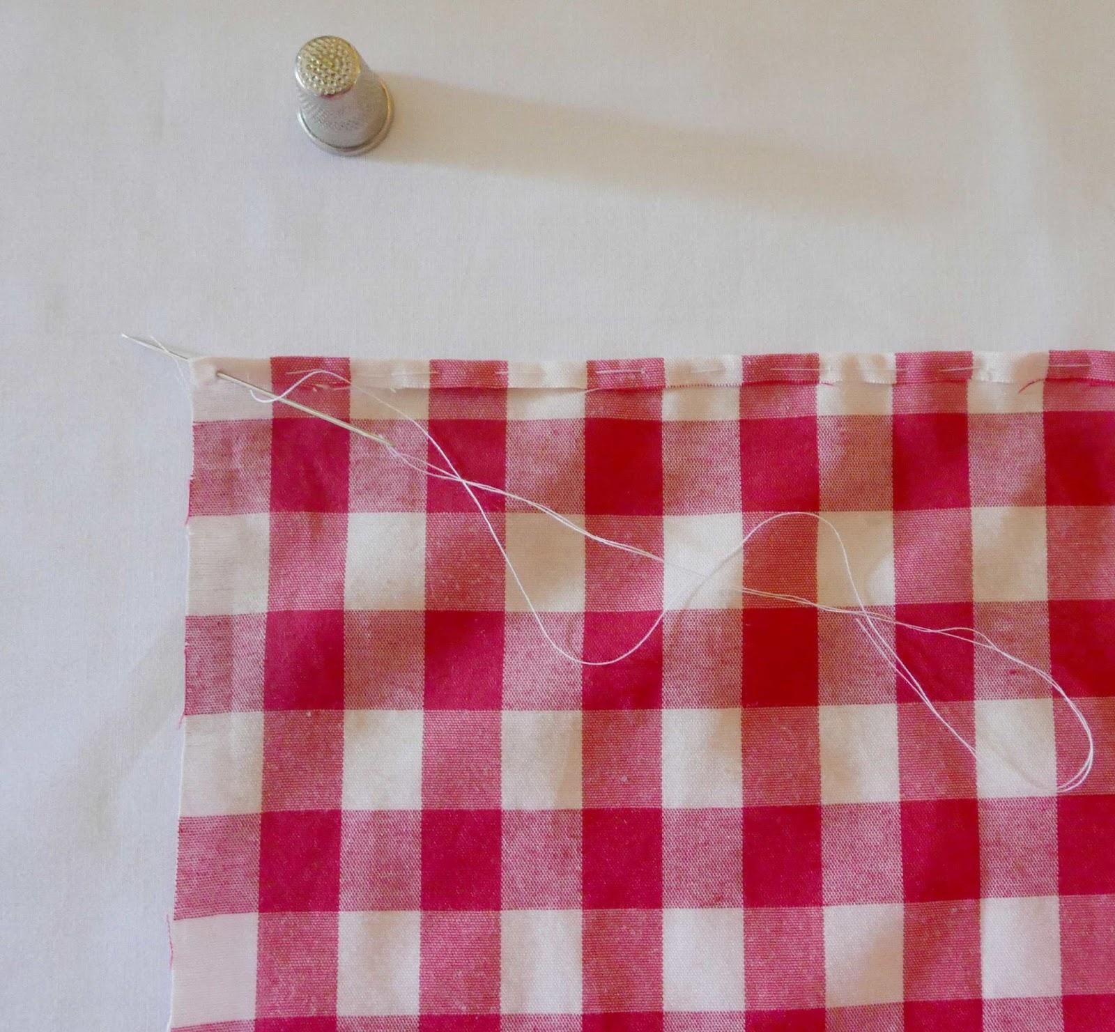 Tutorial para hacer las esquinas de un mantel colours - Hacer un mantel ...