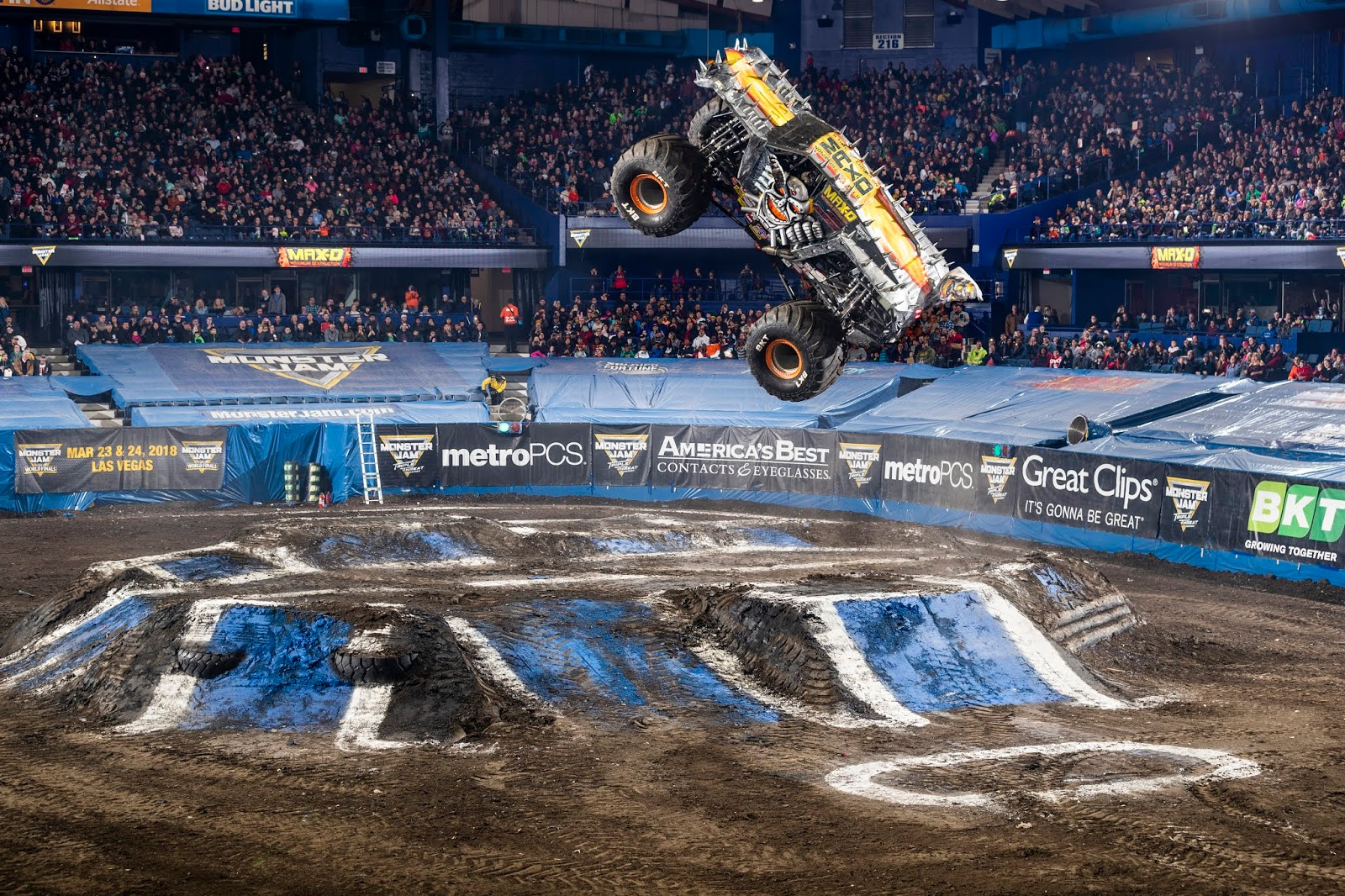 Monster Jam Smashes Into Mercedes-Benz Stadium! - Nanny to Mommy