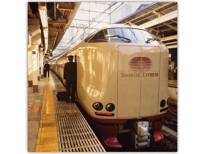 SUNRISE EXPRESS - Interior Ekslusif Kereta Tidur Jepang Seperti Hotel Berbintang