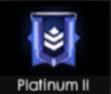 Jika dulu warna logo platinum lebih ke ungu muda atau campuran warna ungu dan hitam Bocoran Logo Terbaru Rank Platinum Season 10 Advance Server