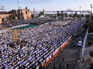 """بأماكن الصلاة ~ التوقيت الجديد """" ميعاد عيد الأضحي 2019-1440 مواعيد صلاة العيد الساعة كام في ليبيا 2019 ,توقيت وموعد صلاة عيد الاضحي في المحافظات الليبية ٢٠١٩"""